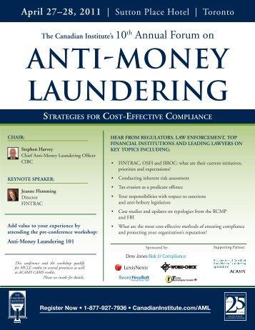 anti-money laundering - Shulman, Rogers, Gandal, Pordy & Ecker, PA