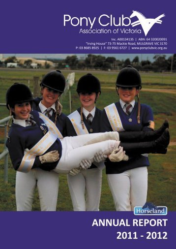 2011-2012 - Pony Club Association of Victoria