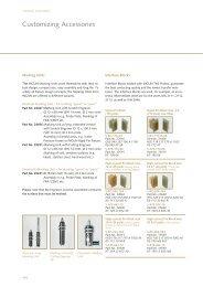 Customizing Accessories