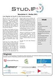 Ausgabe 2012 - Stud.IP