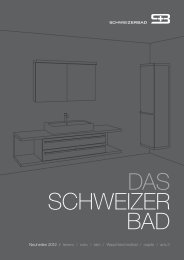 Download Neuheiten-Broschüre 2012 - Schweizerbad