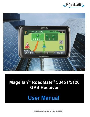 User Manual - Support - Magellan