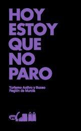 folleto de turismo activo - Murcia Turística