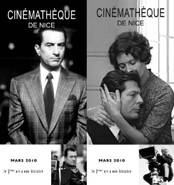 Cinemateque MARS 2010.pdf - Art Côte d'Azur