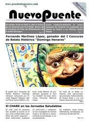 Fernando Martínez López, ganador del I Concurso de Relato ...