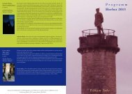Programm Herbst 2013 Edition Isele
