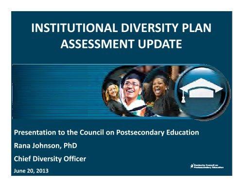 Presentation - Council on Postsecondary Education