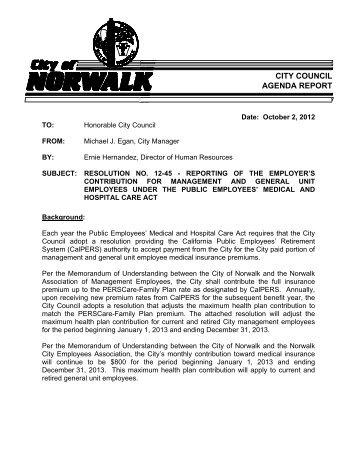 Contribution Agreement Interstate 5 Widening City Of Norwalk