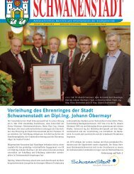85 Jahre vollendeten - Schwanenstadt