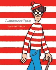 FALL–WINTER 2012 - Candlewick Press