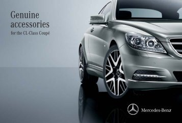 Genuine accessories for the CL-Class Coupé - Mercedes-Benz