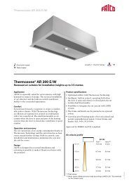 Thermozone® AR 300 E/W - tormax danmark a/s