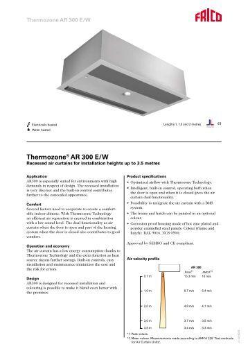 thermozone® ag 4500 5000 a w thermozone® ar 300 e w tormax danmark a s