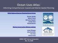 Ocean Uses Atlas - National Marine Sanctuaries - NOAA