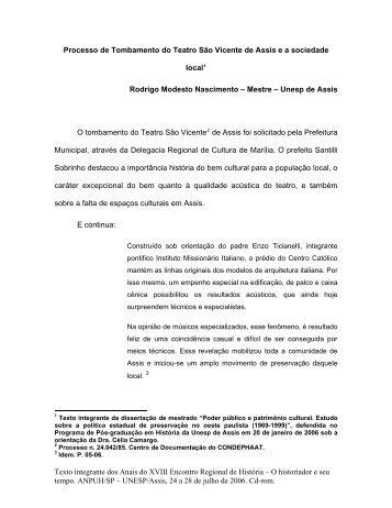 Rodrigo Modesto Nascimento - ANPUH-SP