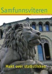 Samfunnsviteren 3/2004 - Samfunnsviterne
