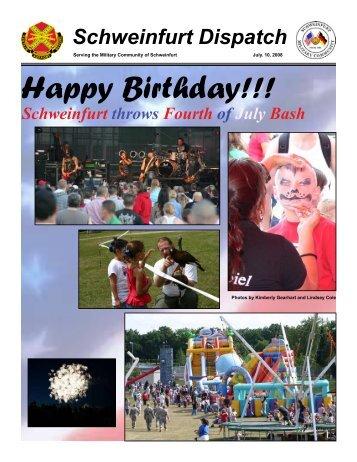 Happy Birthday!!! - U.S. Army