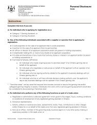 Personal Disclosure Form - Alcohol and Gaming Commission of ...