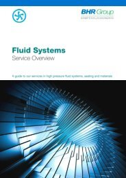 Fluid Systems Services Overview - BHR Group