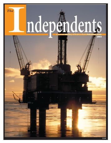 Independents brochure pdf - for Petroleum News