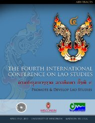 Abstracts - Center for Southeast Asian Studies - University of ...