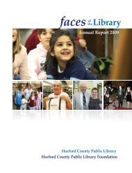 """""""Faces of the Library: Annual Report 2009"""" is also available as a PDF"""