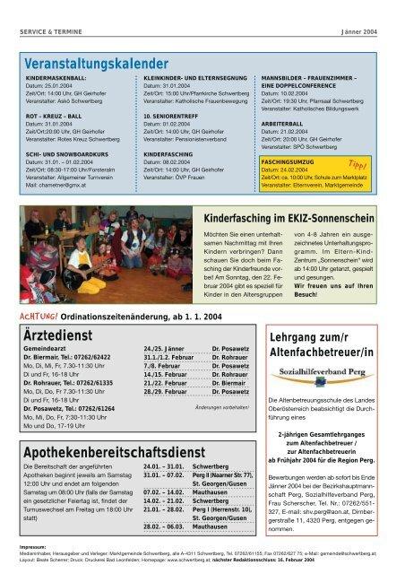 Schwertberg / Familienakademie - Eltern-Kind-Zentren