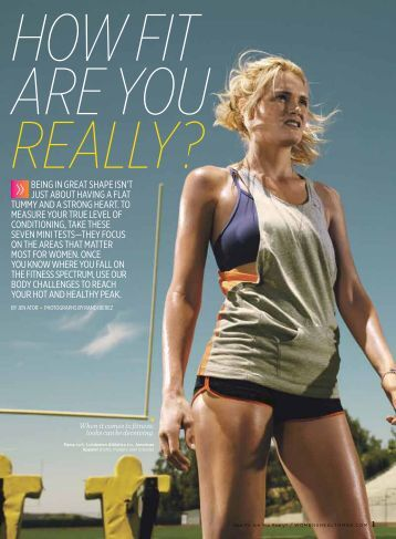 How Fit Are You Really? - Women's Health