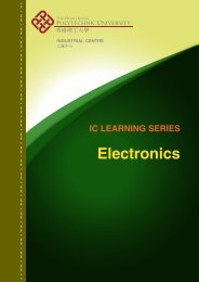 Front Cover - Electronics - The Hong Kong Polytechnic University