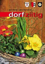 Dorfziitig April 2013 - Gemeinde Winkel