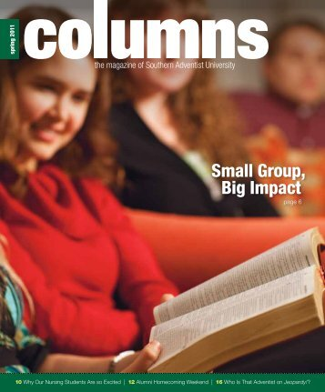 Small Group, Big Impact - Southern Adventist University