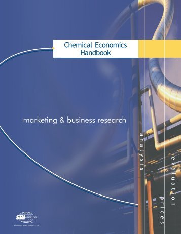 marketing & business research - Chemical Insight & Forecasting