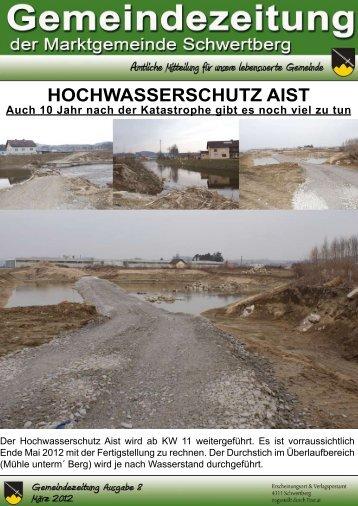 HOCHWASSERSCHUTZ AIST Auch 10 Jahr nach der ... - Schwertberg