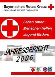 Leben retten Menschen helfen Jugend fördern - Bayerisches Rotes ...
