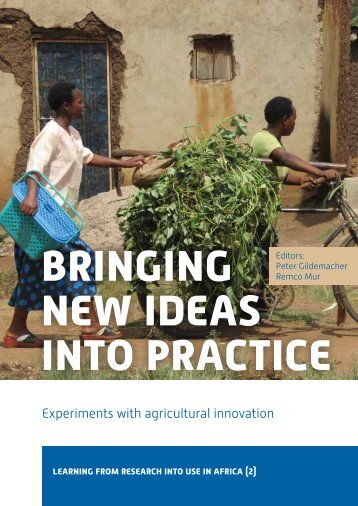 bringing new ideas into practice - Research for Development ...