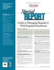 Guide to Managing Hepatitis C With Pegylated Interferons - CECity