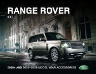 Range Rover - eCarList
