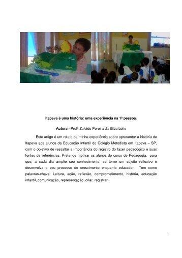 1 Itapeva é uma história - IHGGI - Instituto Histórico, Geográfico e ...
