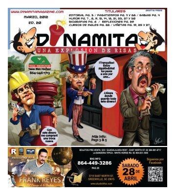 SABADO - Dinamita Magazine