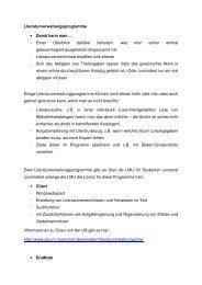 Dokument von Annika Willer hierzu (PDF, mit Links)