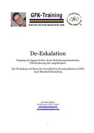 Deeskalation. Umgang mit Aggressivität, akuten ... - Christian Rüther