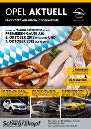 Der neue Opel AstrA. - Schwarzkopf