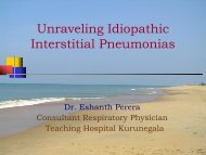 Unraveling Intestitial Lung Disease by Dr. Eshanth Perera
