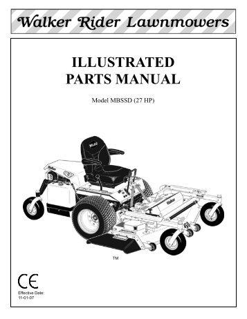 mdd parts manual book walker mowers rh yumpu com Sports Illustrated Women Sports Illustrated Women