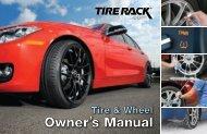 Owner's Manual - Tire Rack