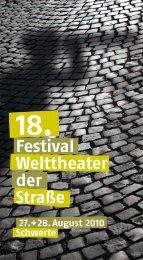 Festival Welttheater der Straße - Schwerte