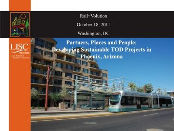 Partners, Places and People: Developing ... - Rail~Volution