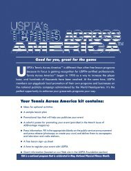 Your Tennis Across America kit contains: - United States ...