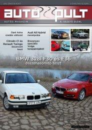 BMW 328i F30 és E36