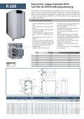 Fali és álló kivitelŰ ipari kondenzációs ... - Thermo Dragons - Page 6